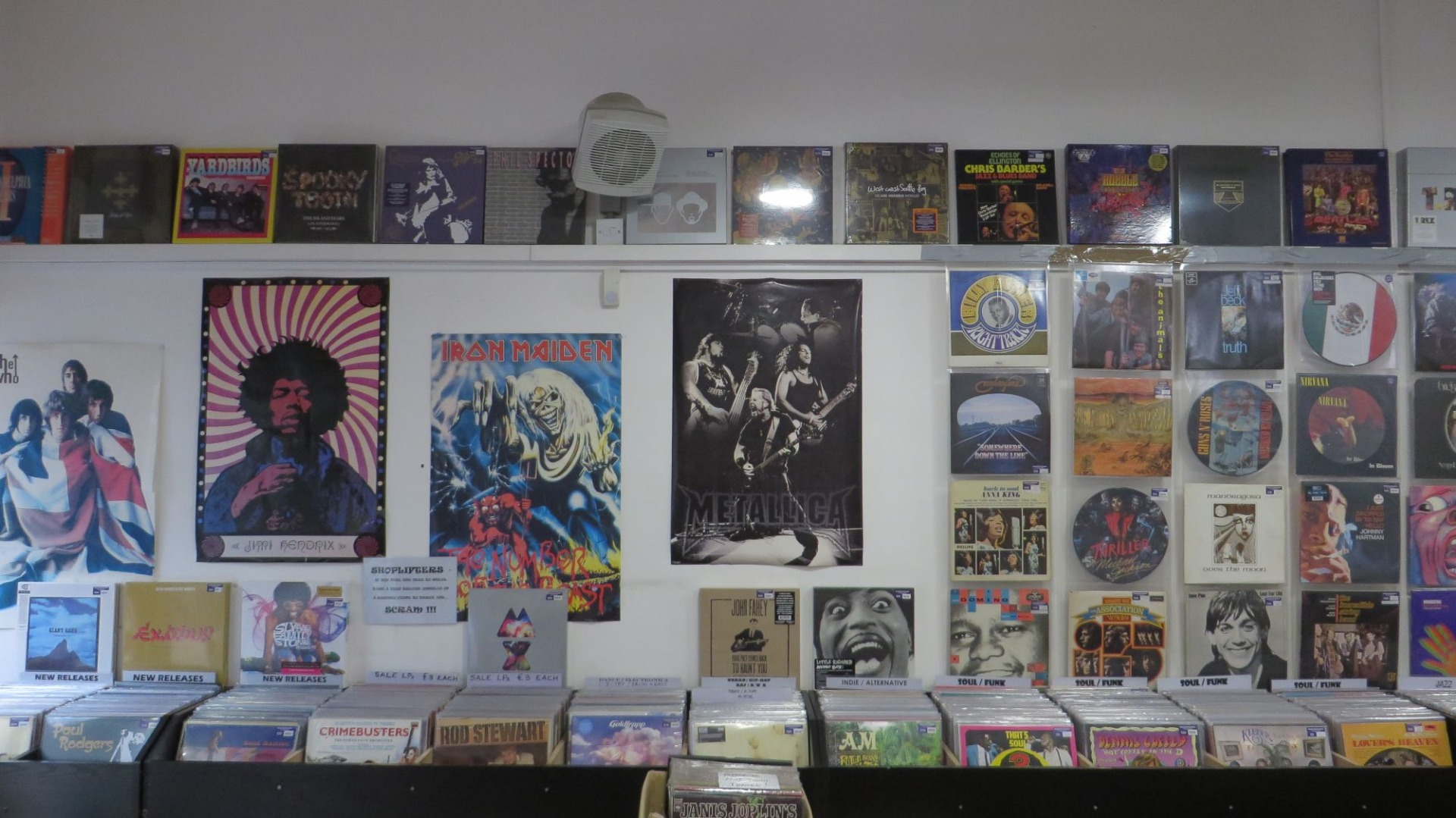 What We Carry | Rooster Records Exeter Devon | Buy and Sell